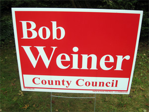 Bob Weiner for County Council